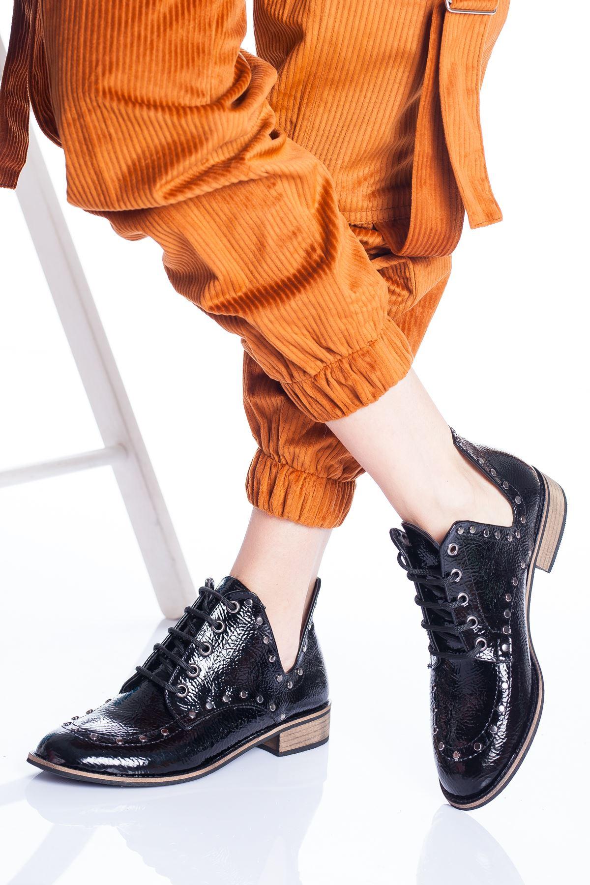 Rantor Ayakkabı SİYAH RUGAN