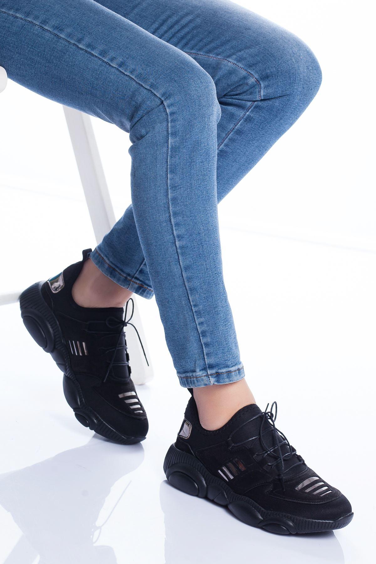 Marks Spor Ayakkabı SIYAH
