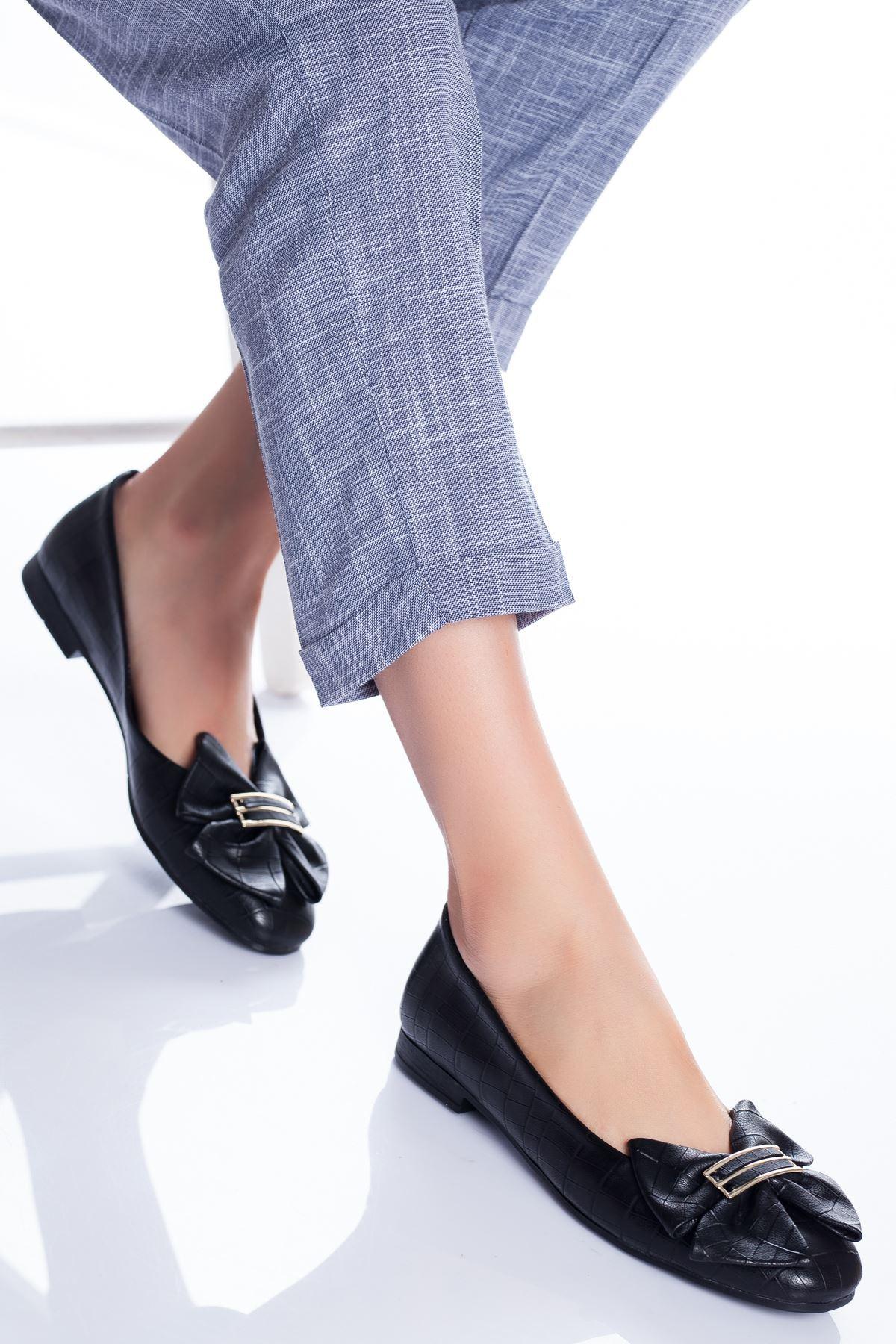 Mario Babet Ayakkabı SİYAH CROC