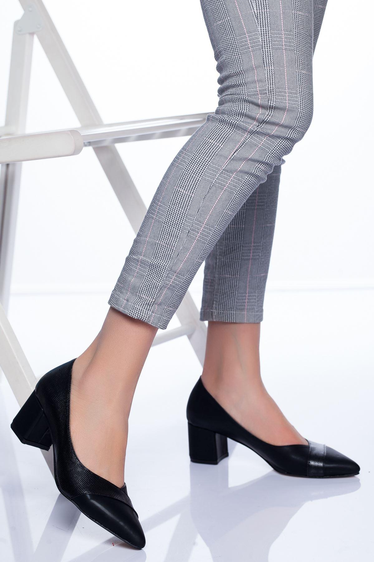 Odessa Topuklu Ayakkabı SIYAH