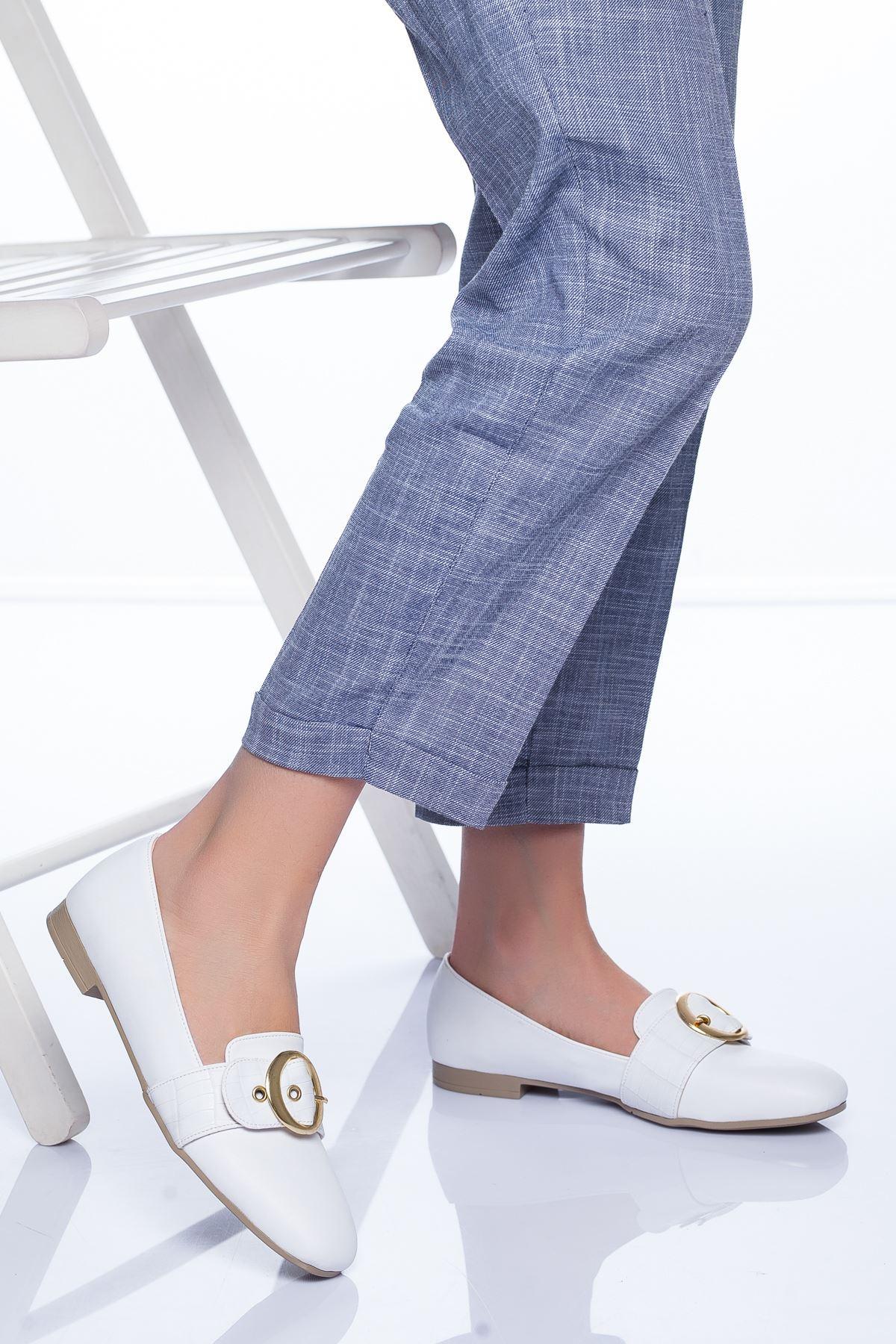 Liam Babet Ayakkabı BEYAZ