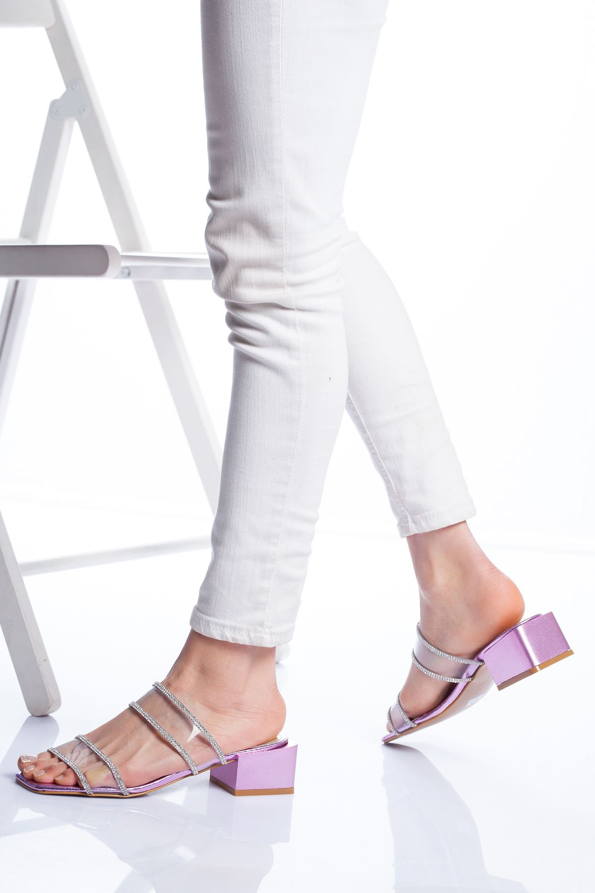 Lodi Topuklu Ayakkabı PUDRA