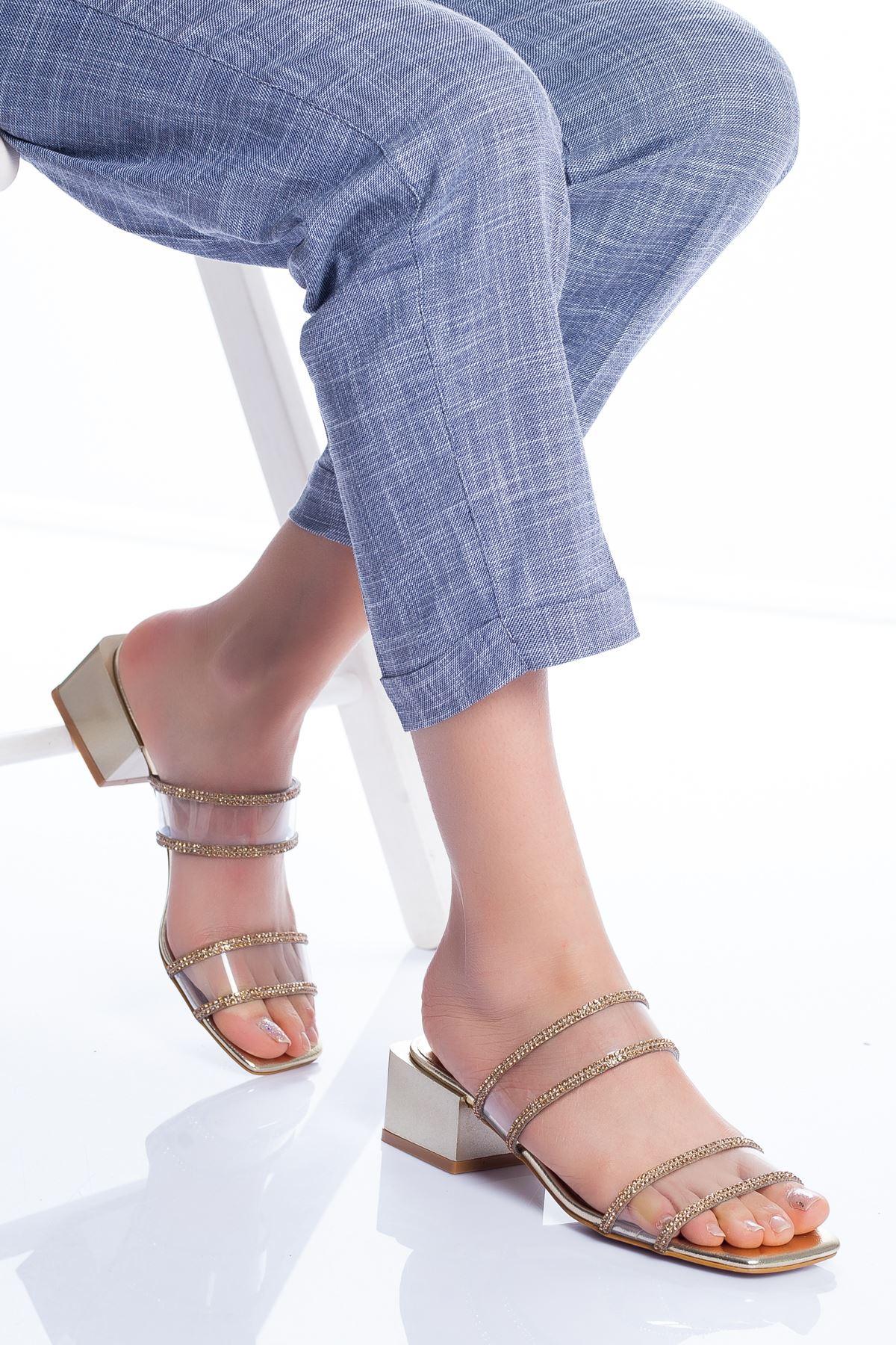 Lodi Topuklu Ayakkabı GOLD