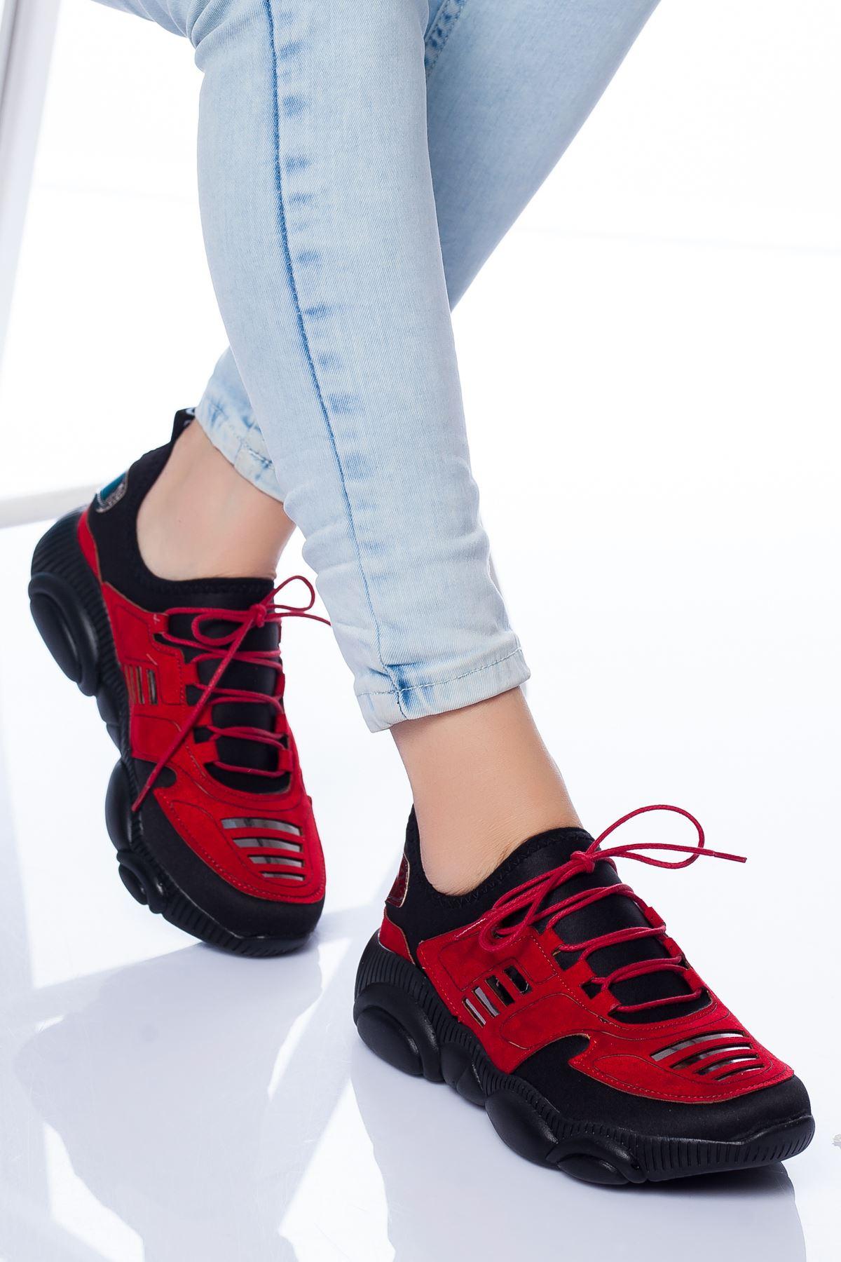 Marks Spor Ayakkabı KIRMIZI