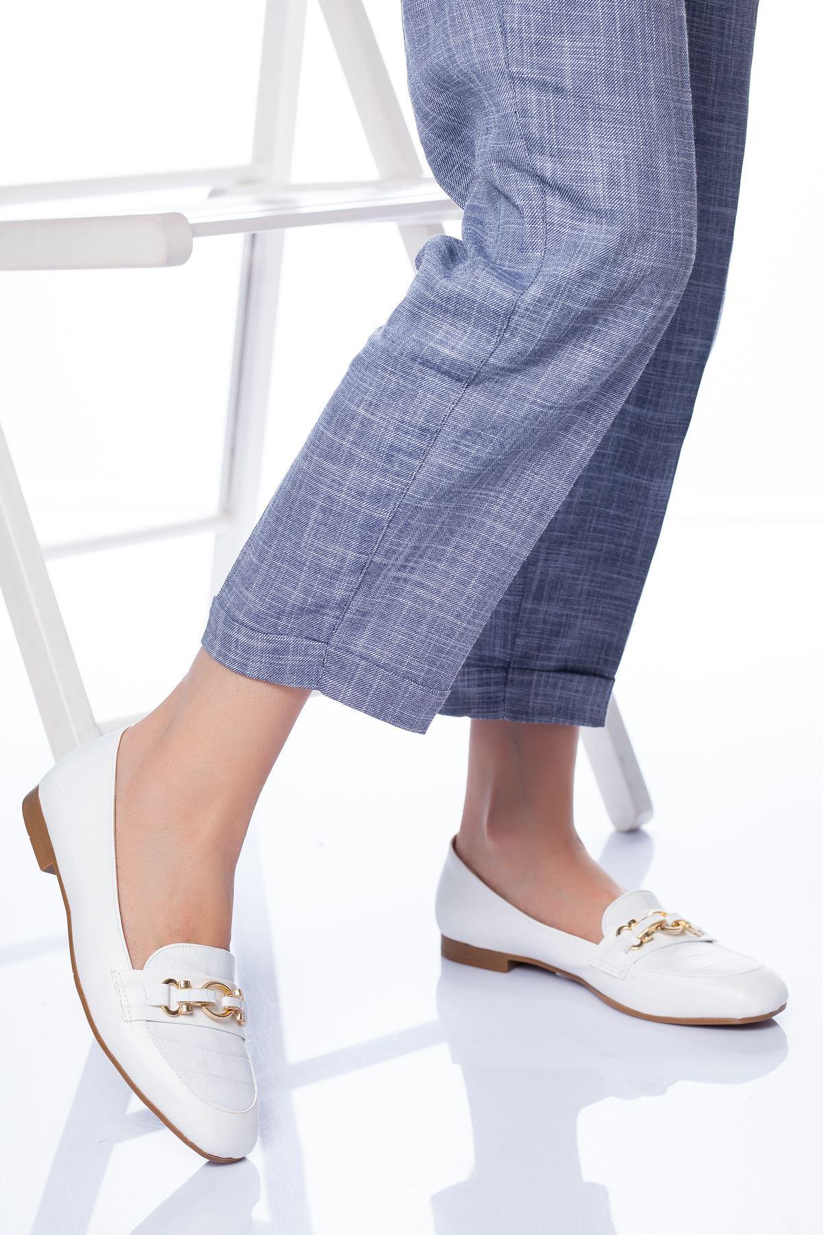 Jason Babet Ayakkabı BEYAZ
