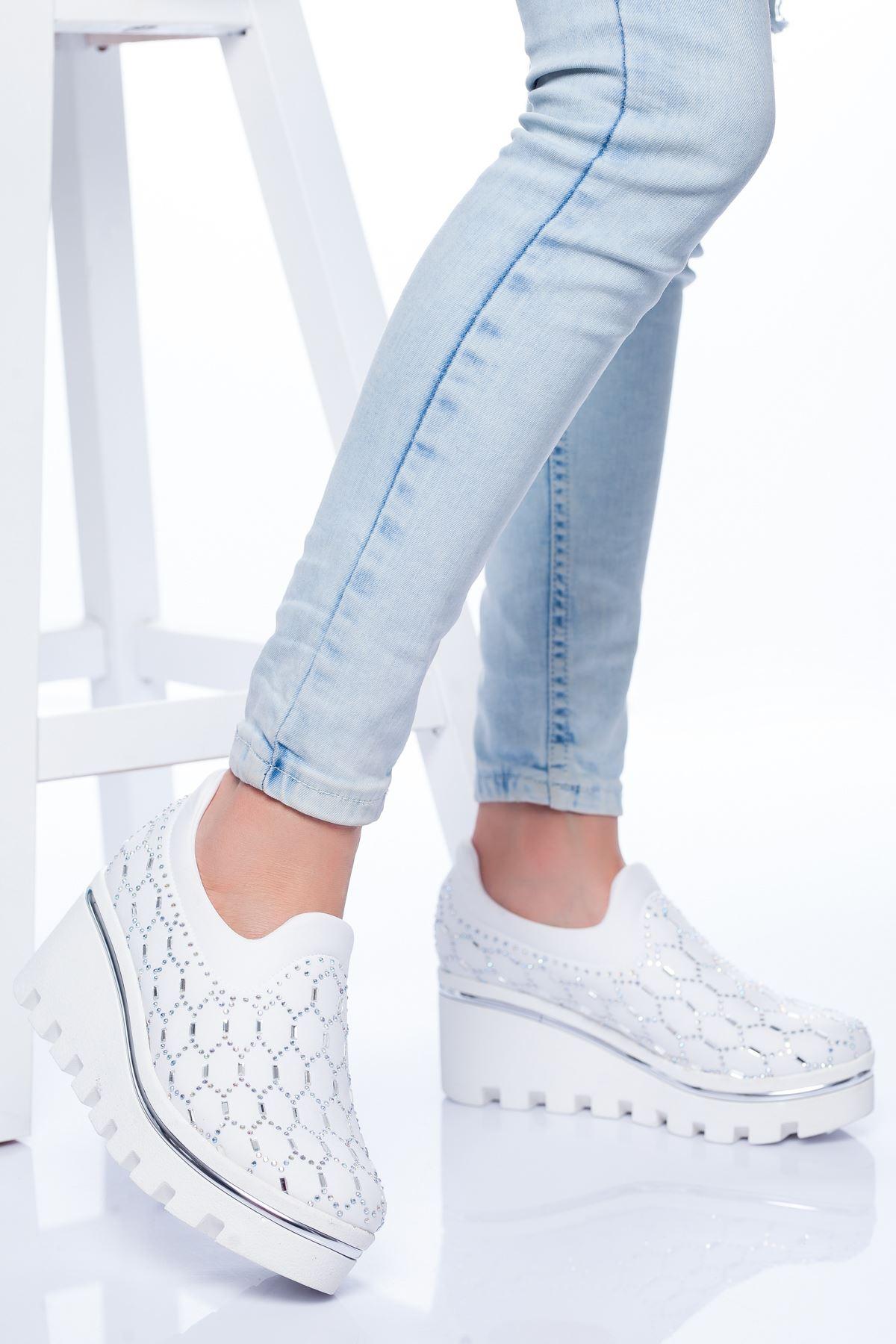 Violet Spor Ayakkabı BEYAZ