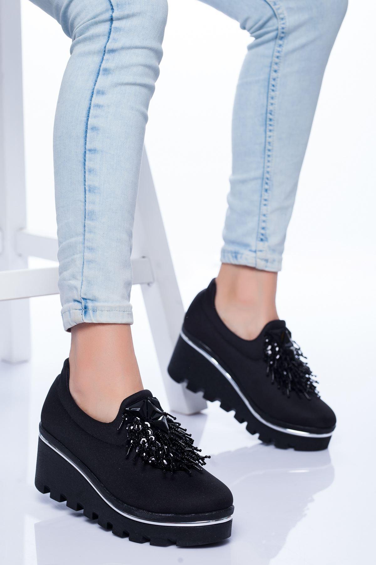 Minka Spor Ayakkabı SIYAH