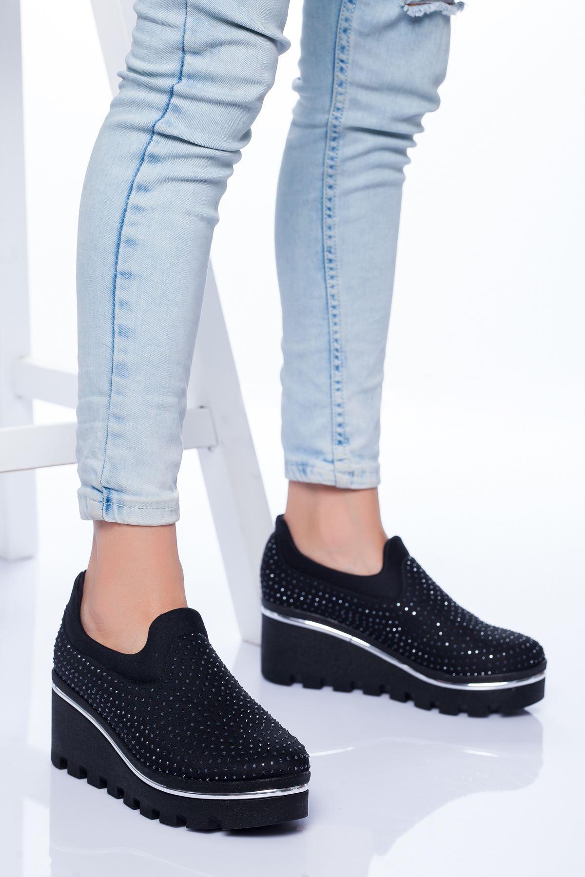 Almira Spor Ayakkabı SIYAH