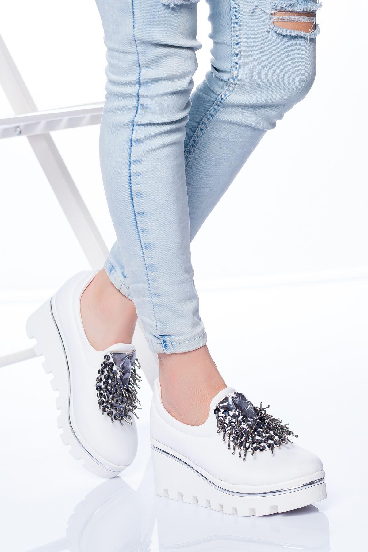 Minka Spor Ayakkabı BEYAZ