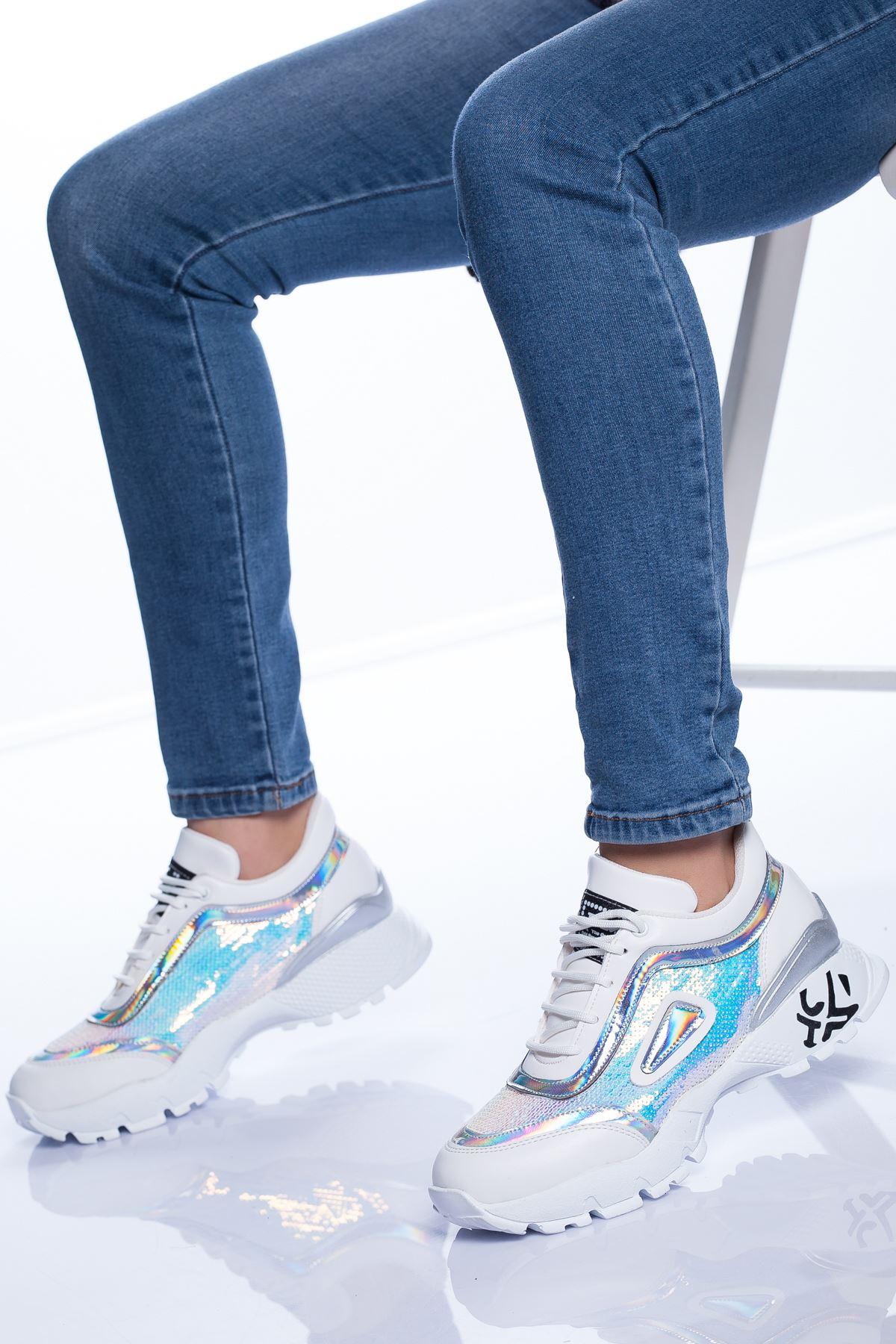 Conny Spor Ayakkabı BEYAZ
