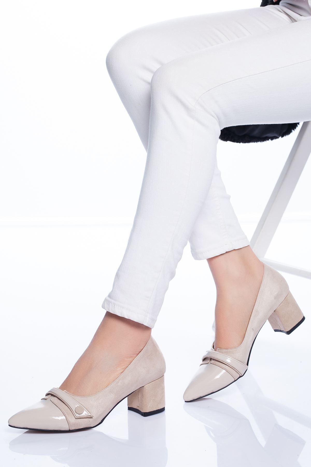 Rakita Topuklu Ayakkabı TEN SÜET