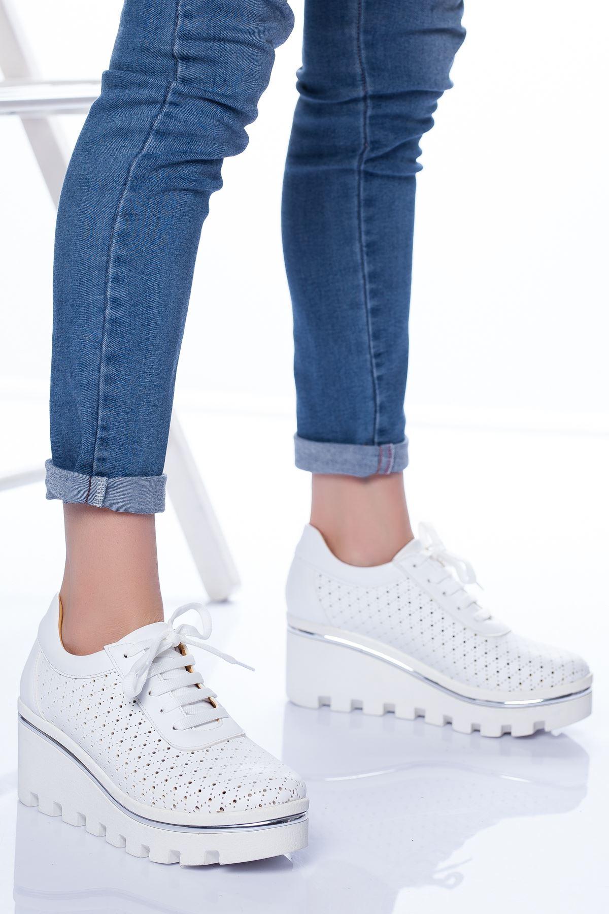 Rayne Spor Ayakkabı BEYAZ