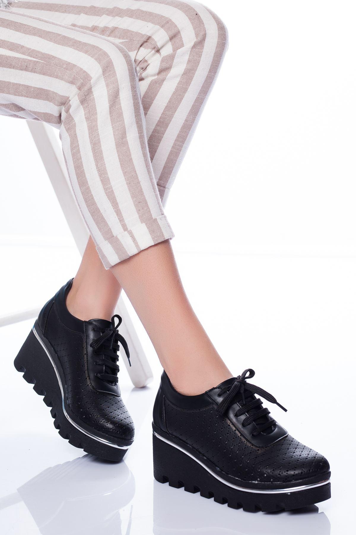 Rayne Spor Ayakkabı SIYAH