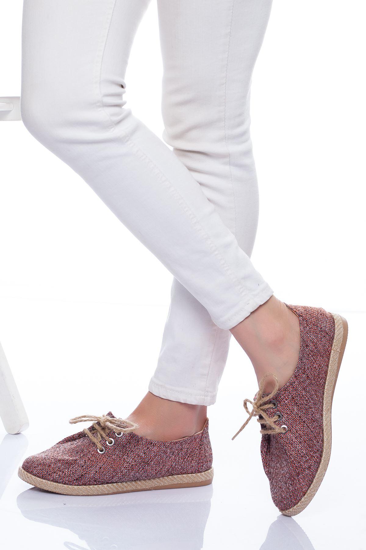 Kikka Spor Ayakkabı BORDO