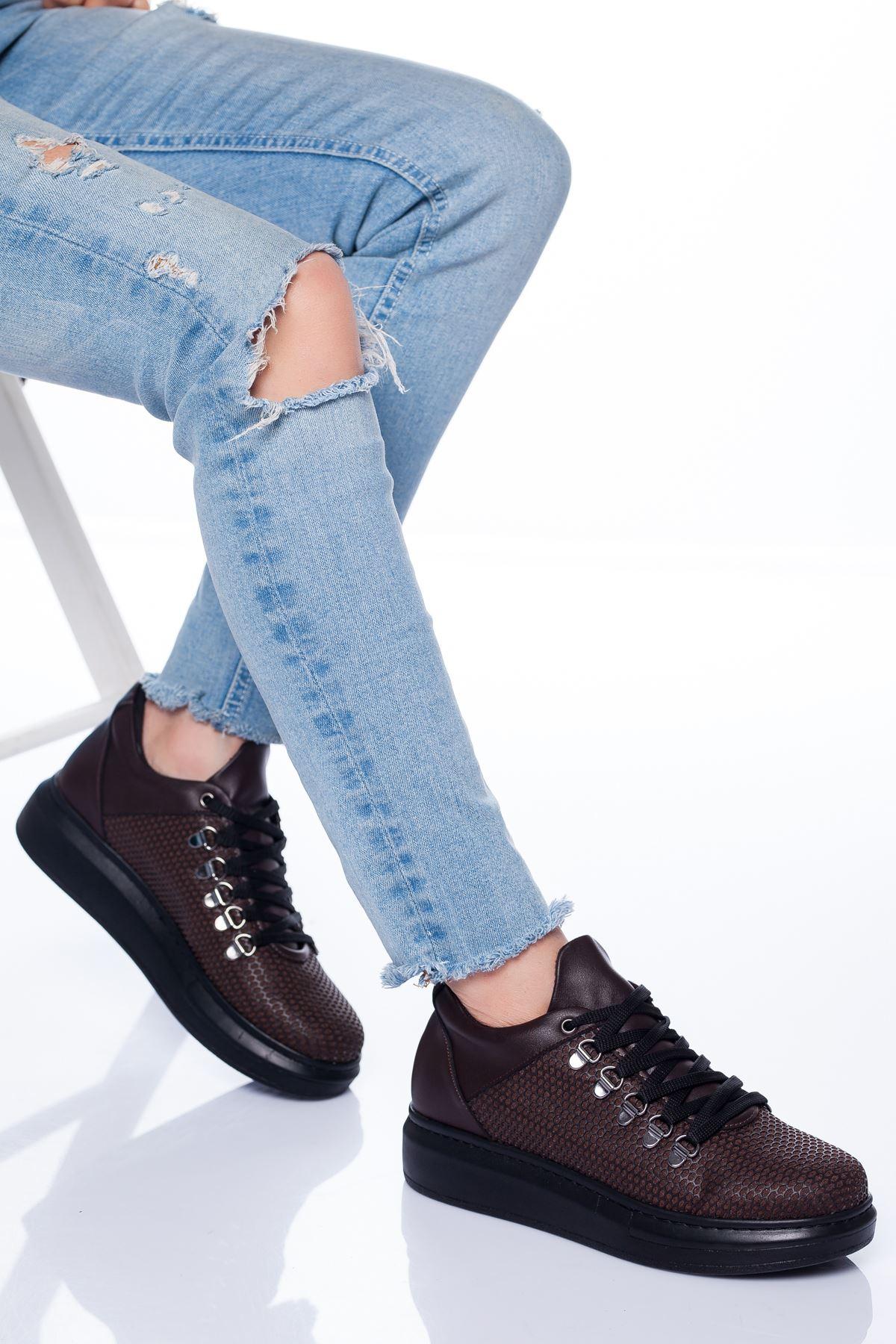 Gale Spor Ayakkabı KAHVE