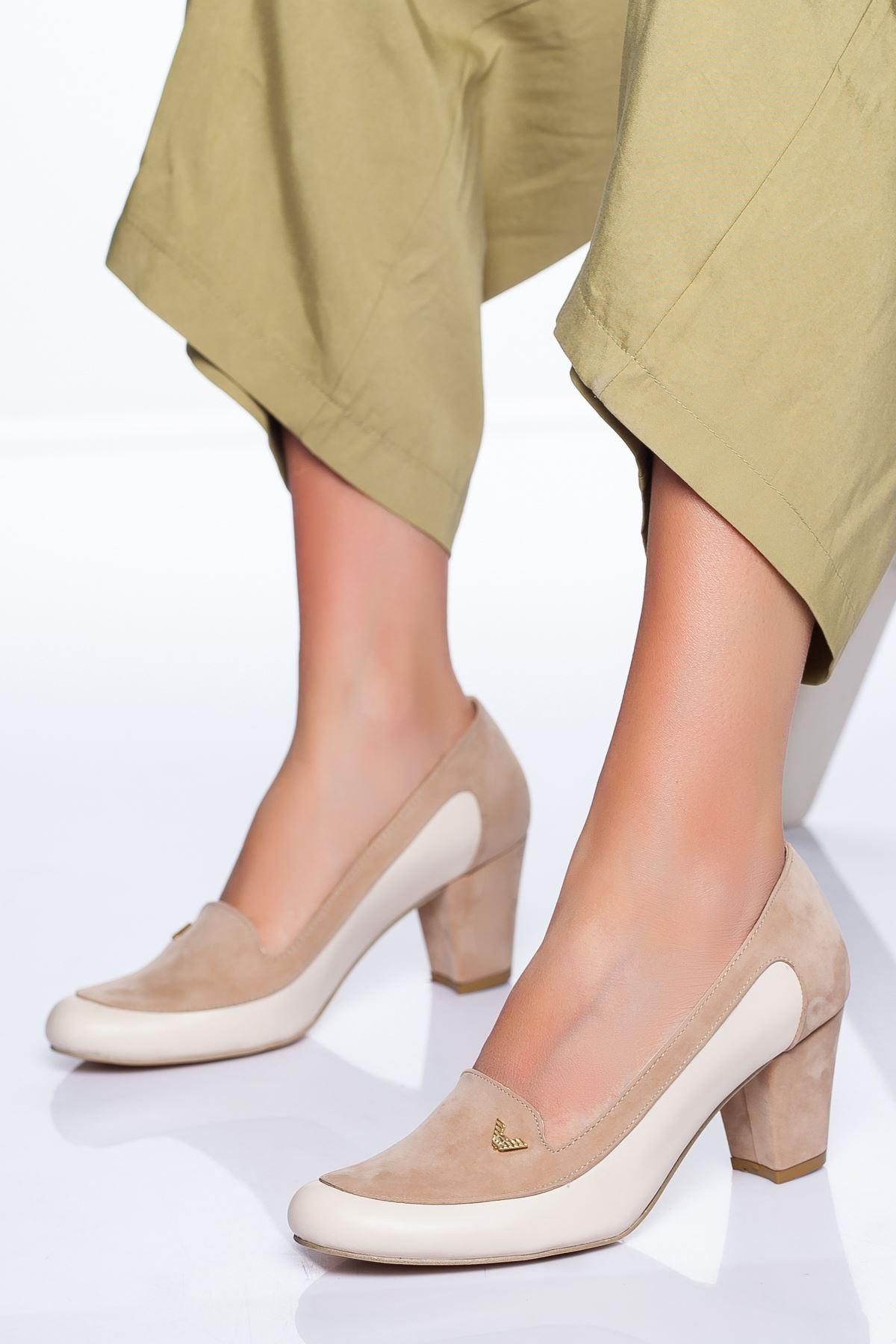 Maxx Topuklu Ayakkabı TEN CİLT