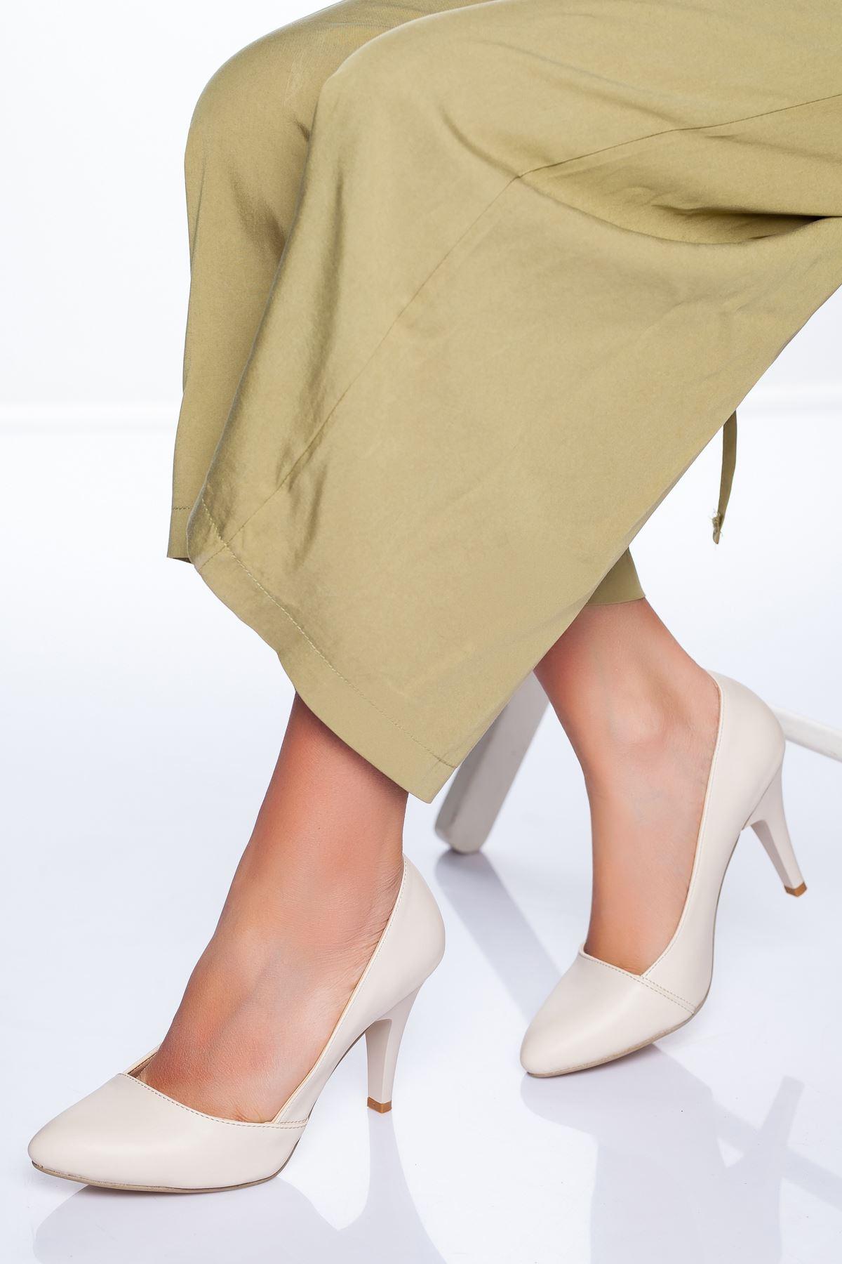Vonne Topuklu Ayakkabı TEN CİLT