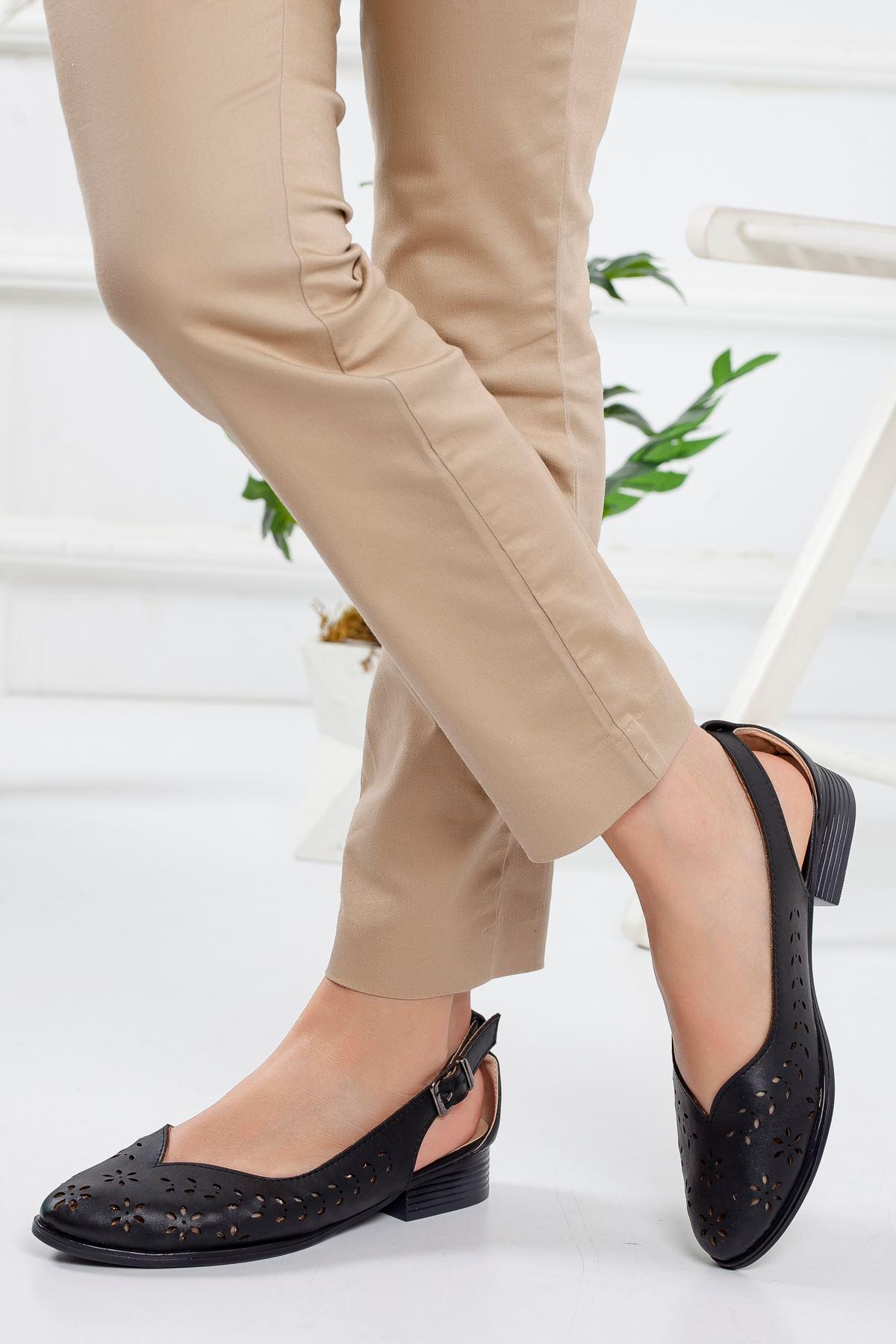 Welsa Babet Ayakkabı SIYAH