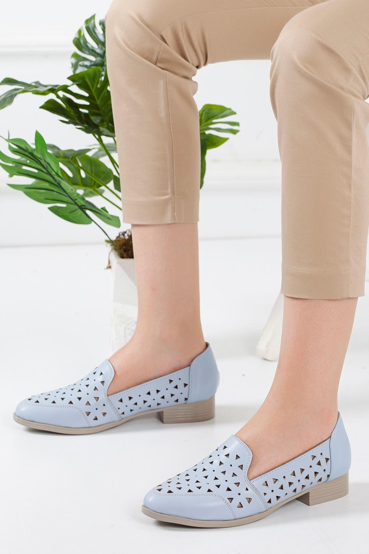 Luna Babet Ayakkabı BEBE MAVİSİ