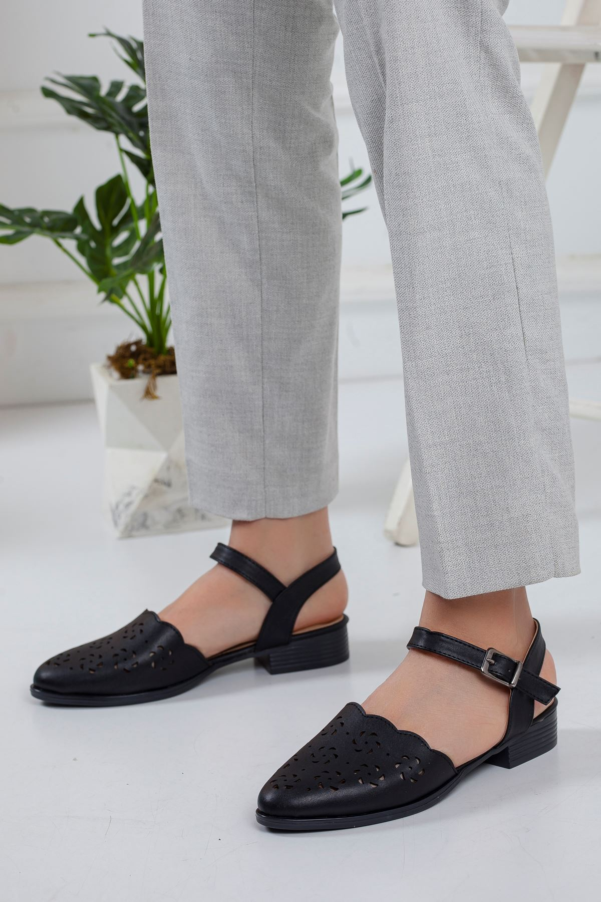 Vokes Babet Ayakkabı SIYAH